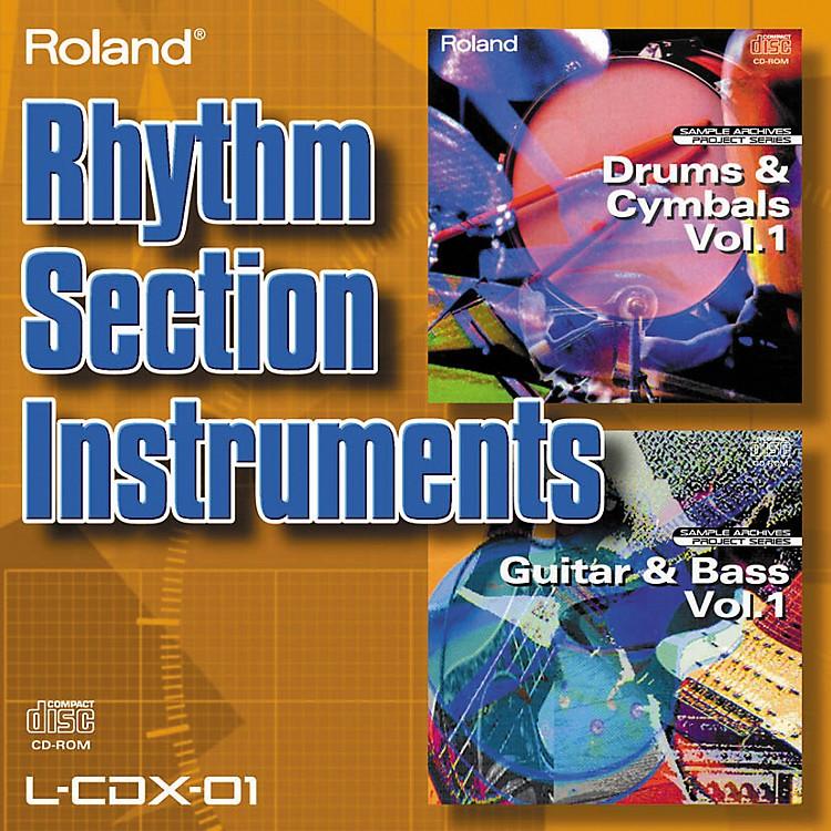 RolandL-CDX-01 Rhythm Section Instruments