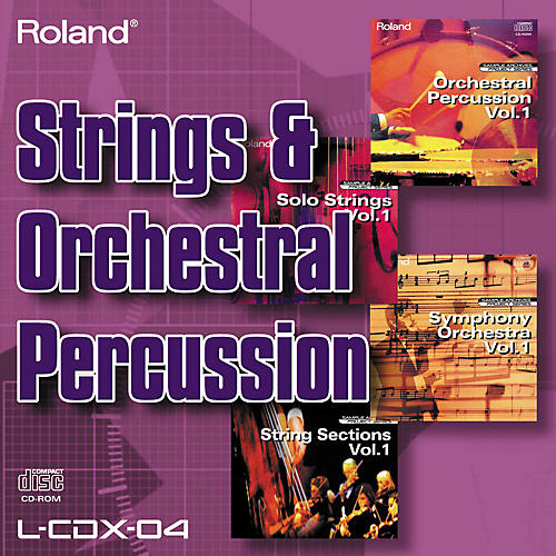 Roland L-CDX-04 Strings and Orchestral Percussion-thumbnail