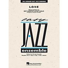 Hal Leonard L-O-V-E Jazz Band Level 2 Arranged by Roger Holmes