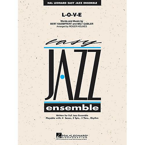 Hal Leonard L-O-V-E Jazz Band Level 2 Arranged by Roger Holmes-thumbnail