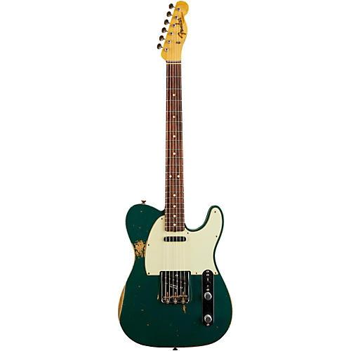 Fender Custom Shop L-Series 1964 Telecaster Heavy Relic Electric Guitar Sherwood Green Metallic