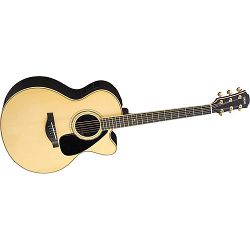 Yamaha L Series LJX6C Jumbo Cutaway Acoustic Electric Guitar with Case