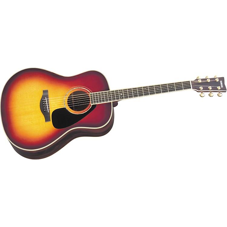YamahaL Series LL6 Dreadnought Acoustic GuitarSunburst
