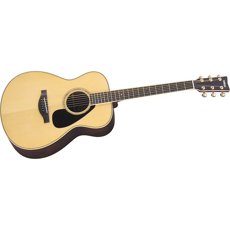 Yamaha L Series LS6 Concert Acoustic Guitar Natural