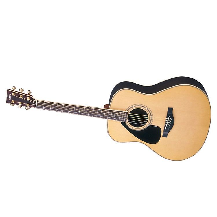 Yamaha L Series Left-Handed Dreadnought Acoustic Guitar with Case