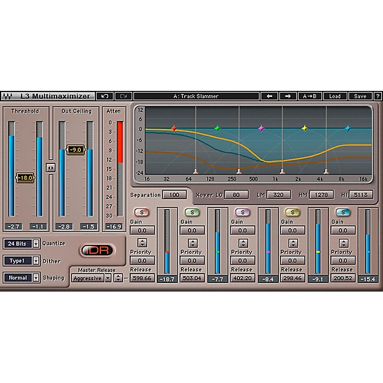 Waves L3-16 + L3 Multimaximizer TDM/SOUNDGRID Software  Download
