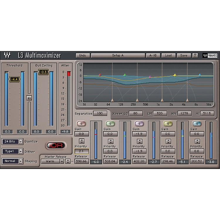 WavesL3 Multimaximizer - Native LicenseSoftware  Download