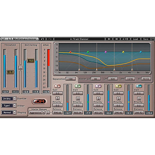 Waves L3 Multimaximizer Native/TDM/SG Software Download