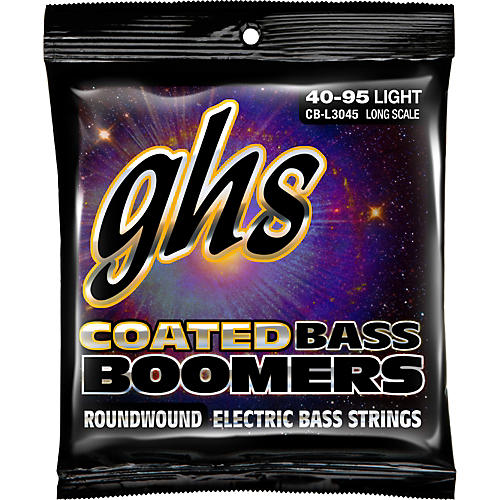 GHS L3045 Coated Boomers Light Bass Strings-thumbnail