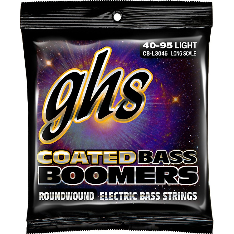 GHS L3045 Coated Boomers Light Bass Strings