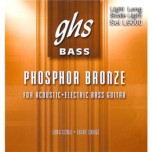 GHS L9000 Acoustic Bass Strings