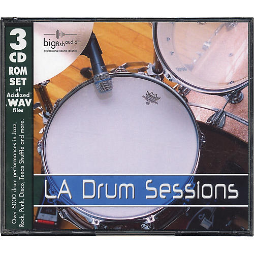 Big Fish LA Drum Sessions Audio Loops