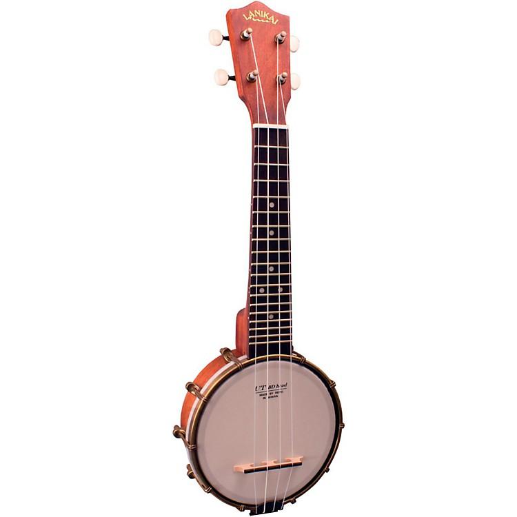 LanikaiLB6-S Openback Soprano BanjoleleSatin Natural
