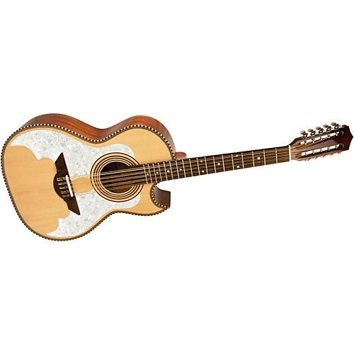H. Jimenez LBQ3 El Murcielago (The Bat) Full Body Bajo Quinto Acoustic Guitar