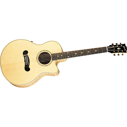 Gibson LC-2 Sonoma Quilted Maple Acoustic-Electric Guitar-thumbnail