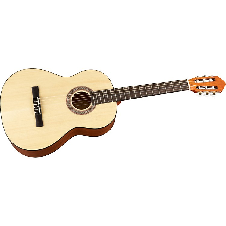 LuceroLC100S Solid-Top Classical Acoustic Guitar