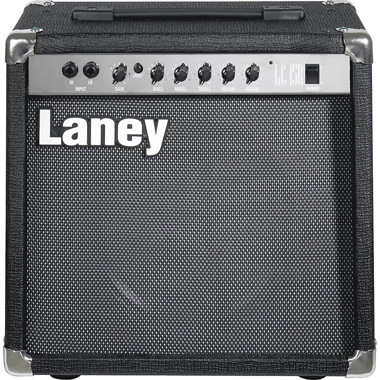 LaneyLC15 15W 1x10 Tube Guitar Combo AmpBlack