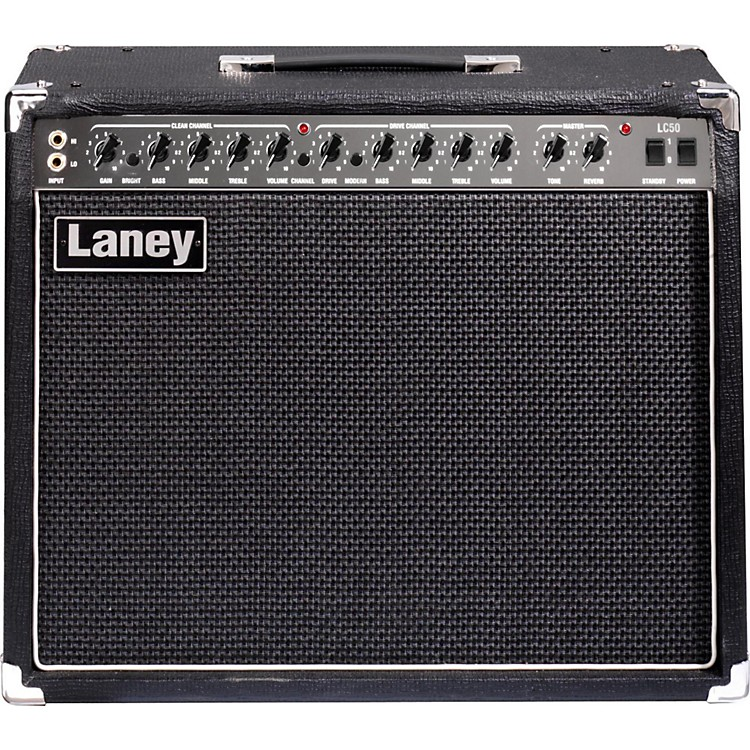 Laney LC50-112 50W 1x12 Tube Guitar Combo Amp Black