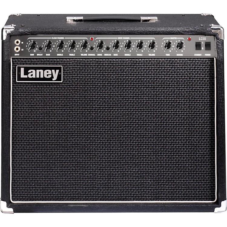LaneyLC50-112 50W 1x12 Tube Guitar Combo AmpBlack