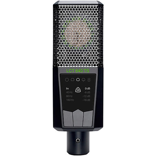 Lewitt Audio Microphones LCT 640 S Multi-Pattern Large-Diaphragm Condenser Microphone with Shockmount Black