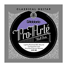 D'Addario LCX-3B Pro-Arte Extra Hard Tension Classical Guitar Strings Half Set
