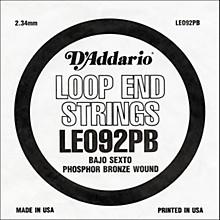 D'Addario LE092PB Phosphor Bronze Wound Single String