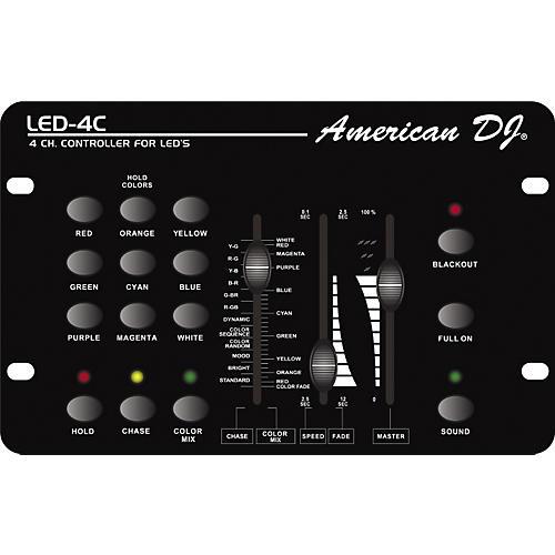 American DJ LED-4C DMX LED Controller-thumbnail