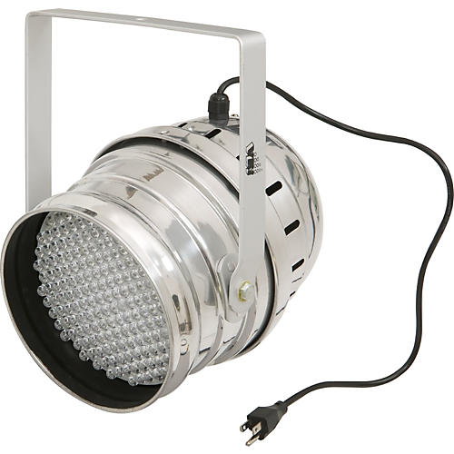 Lighting LED PAR 64 Light Chrome Short Fixture