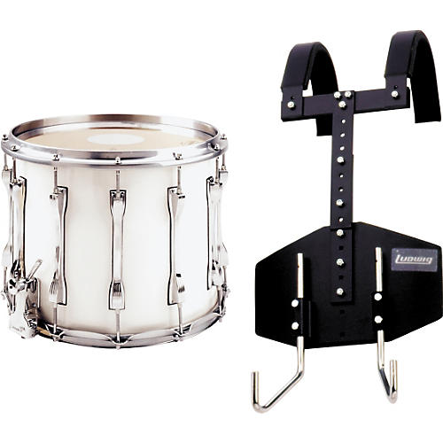 Ludwig LF-T124 Challenger Snare Drum with Omni-T Carrier
