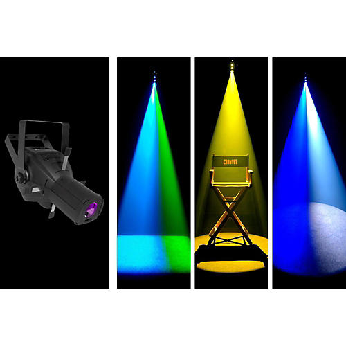 Chauvet LFS-75DMX 75 Watt LED Framing Spot/Gobo Projector
