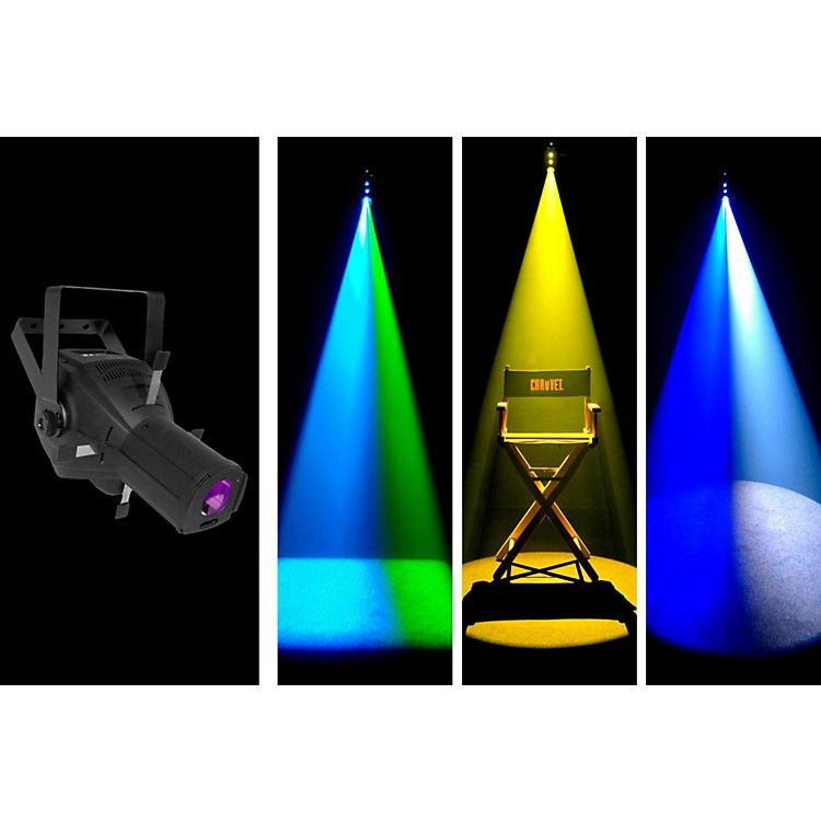 ChauvetLFS-75DMX 75 Watt LED Framing Spot/Gobo Projector