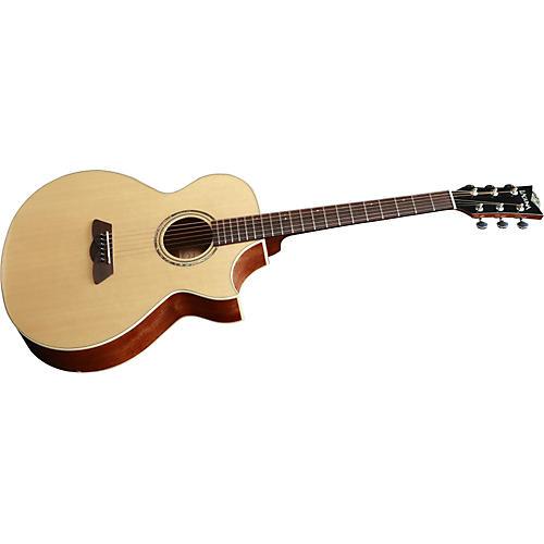 Laguna LG300CE Solid-Top Acoustic-Electric Guitar