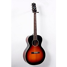 The Loar LH-200 Small Body Acoustic-Electric  Guitar Level 2 Sunburst 888365680743