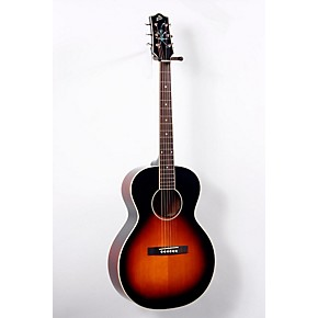 the loar lh 200 small body acoustic electric guitar sunburst musician 39 s friend. Black Bedroom Furniture Sets. Home Design Ideas