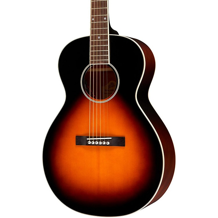 The LoarLH-200 Small Body Acoustic-Electric  GuitarSunburst