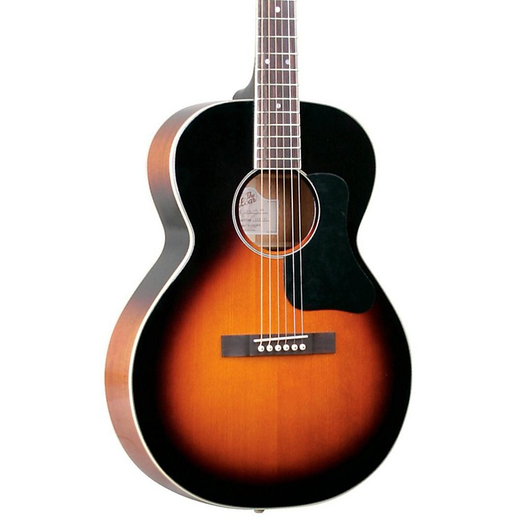 The Loar LH-200 Small-Body Acoustic Guitar Natural