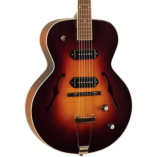 The Loar LH-319-VS Hollowbody Electric Guitar Vintage Sunburst