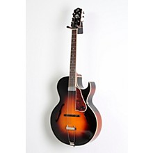 The Loar LH-350 Archtop Cutaway Hollowbody Guitar Level 2 Sunburst 888366040355