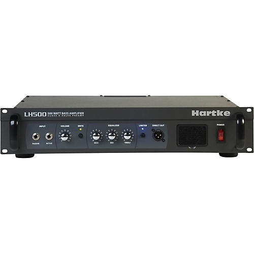 Hartke LH Series LH500 500 Watt Hybrid Bass Amp Head