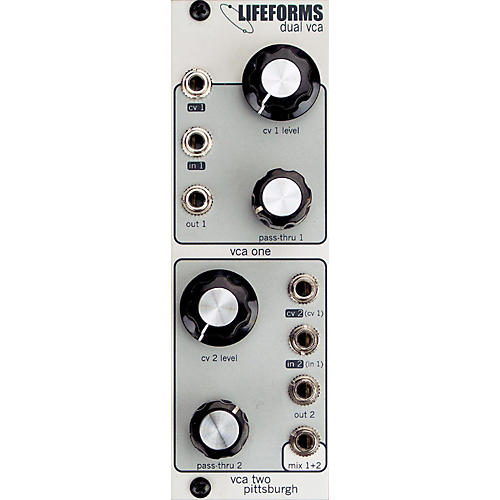 Pittsburgh Modular Synthesizers LIFEFORMS DUAL VCA-thumbnail
