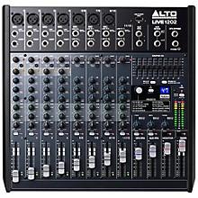 Open BoxAlto LIVE 1202 12-Channel 2-Bus Mixer