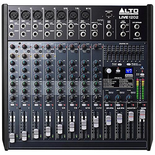 Alto LIVE 1202 12-Channel 2-Bus Mixer-thumbnail