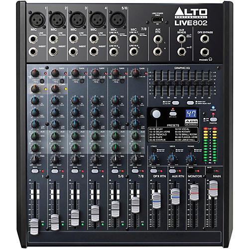 Alto LIVE 802 8-Channel 2-Bus Mixer-thumbnail