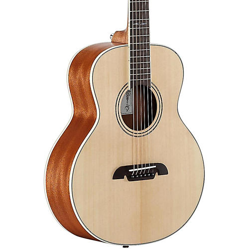 alvarez lj2e travel acoustic electric guitar natural musician 39 s friend. Black Bedroom Furniture Sets. Home Design Ideas