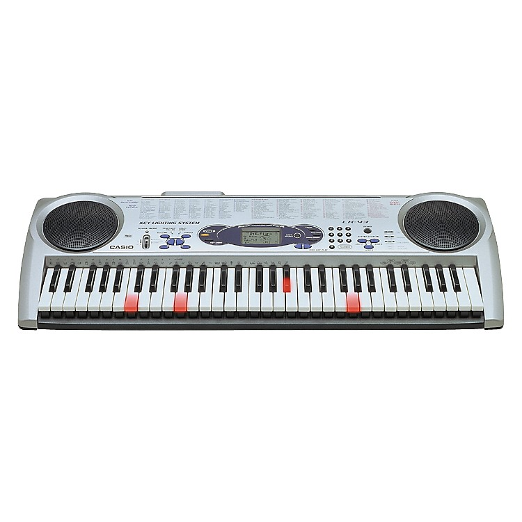 CasioLK-43 61 Note Lighted Key Portable Keyboard