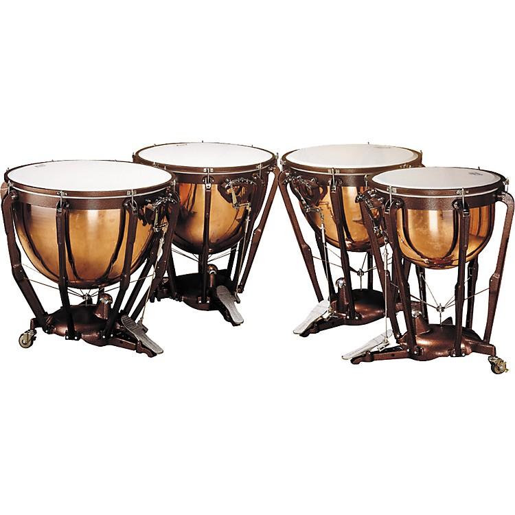 LudwigLKP504PG Professional Polished Copper Timpani Set