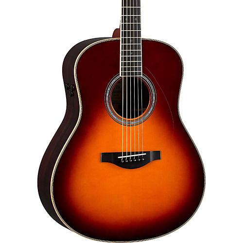 Yamaha LL-TA Transacoustic Jumbo Concert Acoustic-Electric Guitar-thumbnail