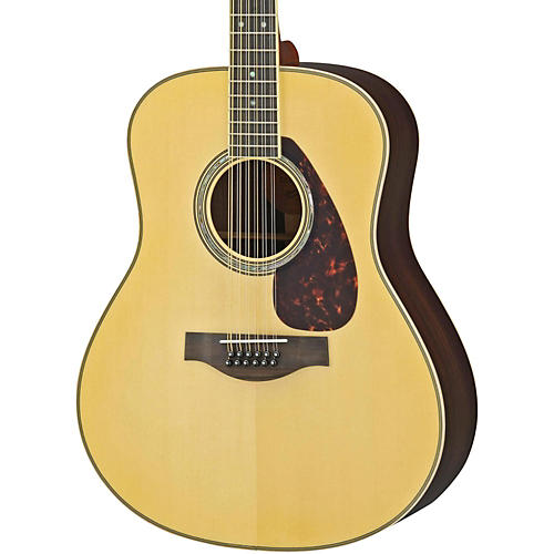 Yamaha LL16R-12 L Series 12-String Solid Rosewood/Spruce Dreadnought Acoustic-Electric Guitar-thumbnail