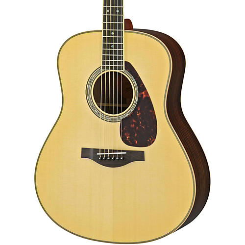 Yamaha LL16R L Series Solid Rosewood/Spruce Dreadnought Acoustic-Electric Guitar-thumbnail
