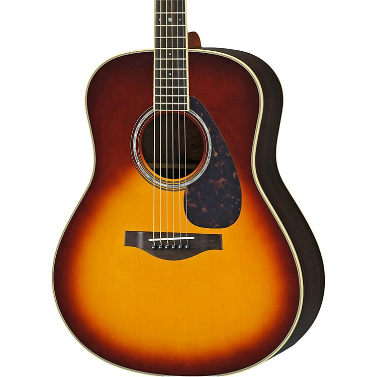 YamahaLL6R L Series Rosewood/Spruce Dreadnought Acoustic-Electric Guitar